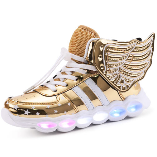 Light Up Shoes Wings Sneakers