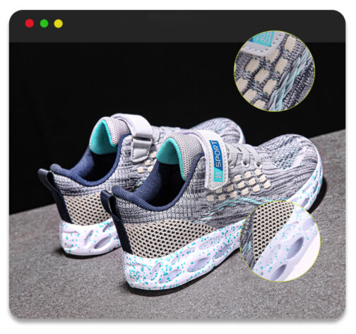 Kids Active Sneakers Boys Girls Trainer Shoes 1
