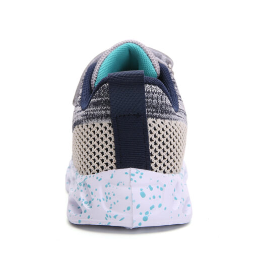 Kids Active Sneakers Boys Girls Trainer Shoes 34