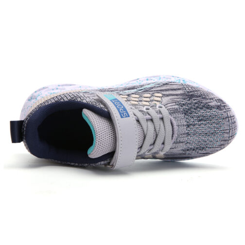 Kids Active Sneakers Boys Girls Trainer Shoes 35
