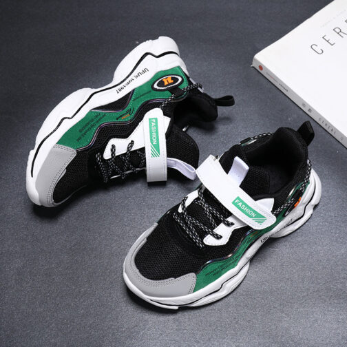 Kids Bright Sneakers Boys Girls Trainer Shoes 20