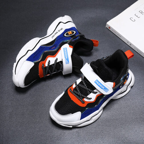 Kids Bright Sneakers Boys Girls Trainer Shoes 24