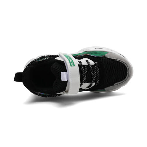 Kids Bright Sneakers Boys Girls Trainer Shoes 3