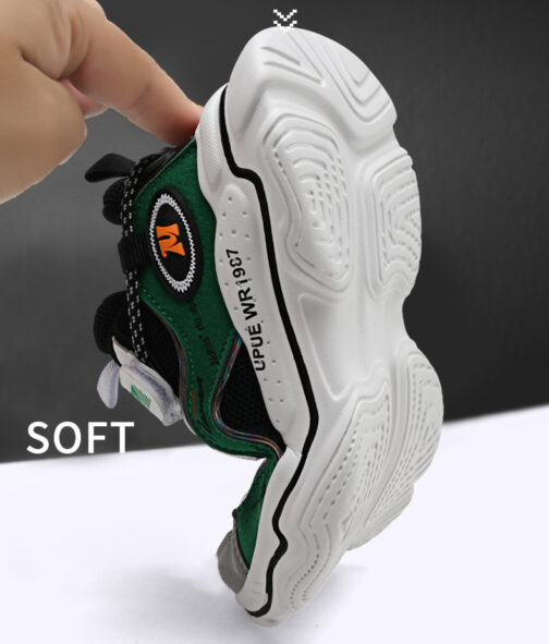 Kids Bright Sneakers Boys Girls Trainer Shoes 48