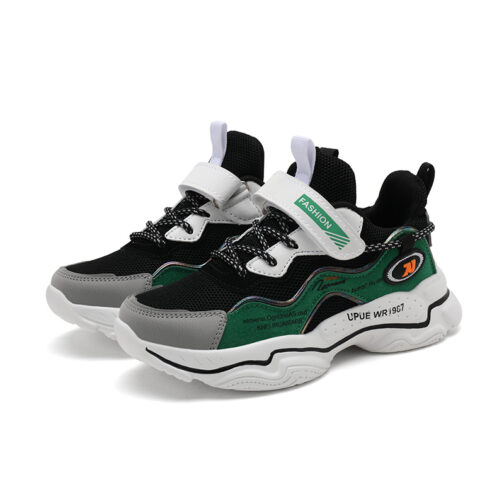 Kids Bright Sneakers Boys Girls Trainer Shoes 6