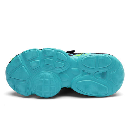 Kids Camouflage Sneakers Boys Girls Trainer Shoes 4