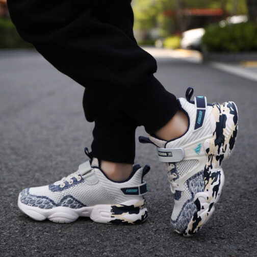Kids Camouflage Sneakers Boys Girls Trainer Shoes