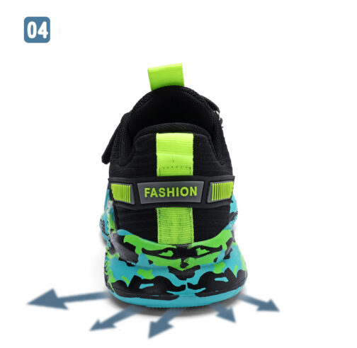 Kids Camouflage Sneakers Boys Girls Trainer Shoes 59