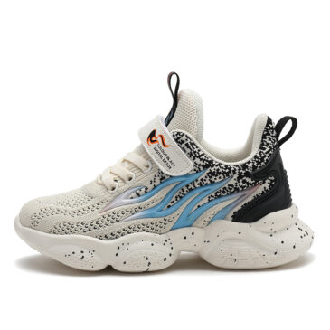 Kids Flame II Sneakers Boys Girls Trainer Shoes