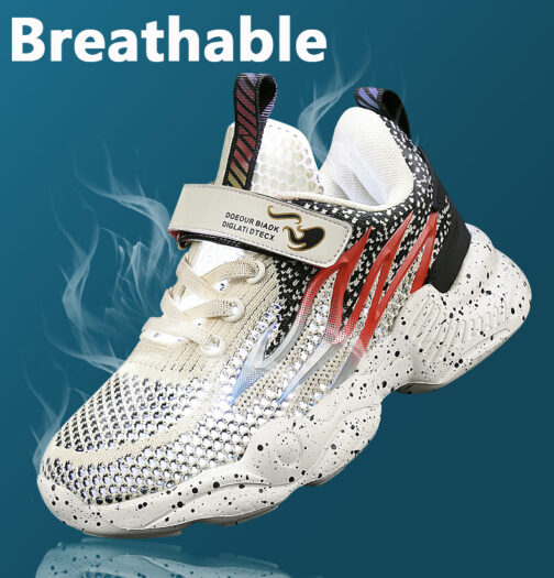 Kids Flame Sneakers Boys Girls Trainer Shoes 8