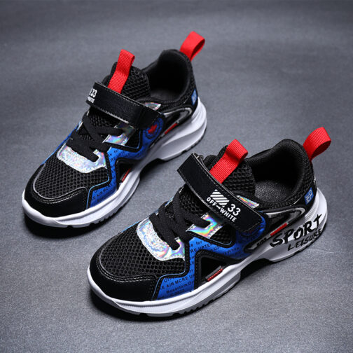 Kids Leisure Sneakers Boys Girls Sandals Trainer Shoes 16