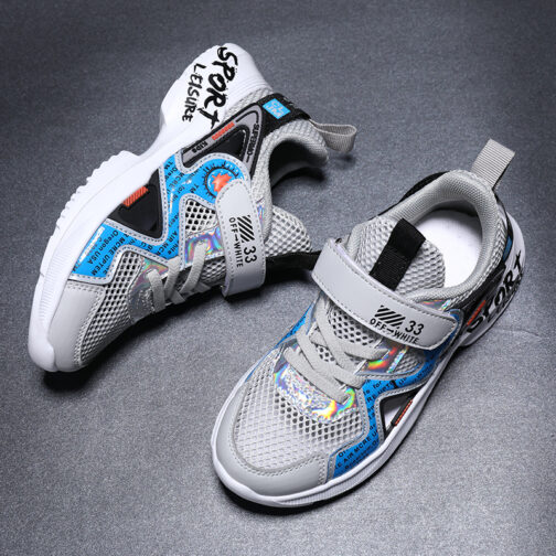 Kids Leisure Sneakers Boys Girls Sandals Trainer Shoes 25