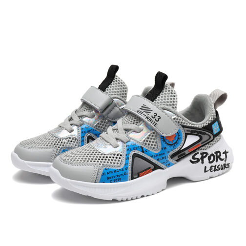 Kids Leisure Sneakers Boys Girls Sandals Trainer Shoes 9