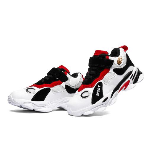 Kids Panda Sneakers Boys Girls Trainer Shoes