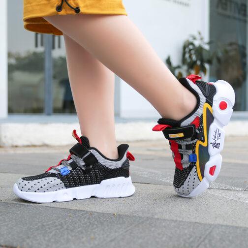 Kids RNBI Sneakers Boys Girls Trainer Shoes 26