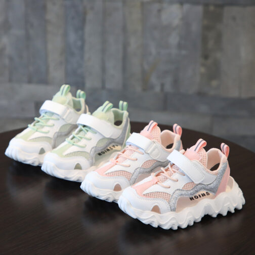 Kids Sneakers Boys Girls Sandals Trainer Shoes