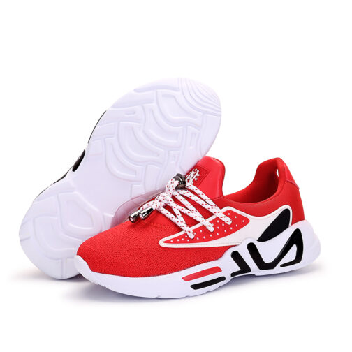 Kids Slip On Sneakers Boys Trainer Shoes