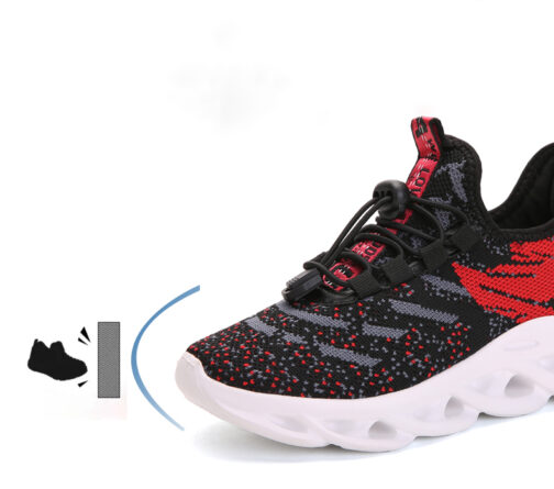 Kids Tiger Sneakers Boys Girls Trainer Shoes 41