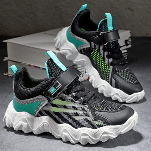 Kids Whirlwind Sneakers Running Shoes Girls Boys Runner Athletic Tennis Trainer Shoes