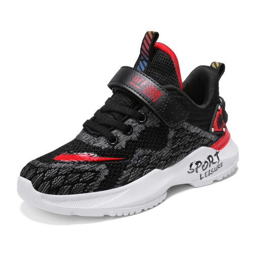 Kids Adroit Sneakers Boys Girls Trainer Shoes
