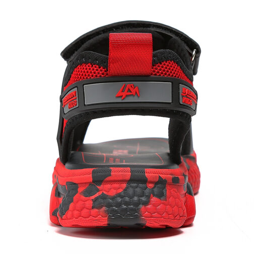 Kids Boys Baby's Open Toe Adjustable Athletic Sandals 14