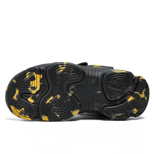 Kids Boys Baby's Open Toe Adjustable Athletic Sandals 18