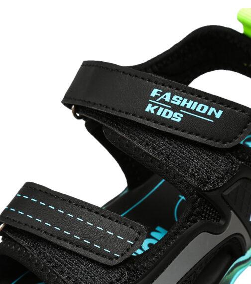 Kids Boys Baby's Open Toe Adjustable Athletic Sandals 51