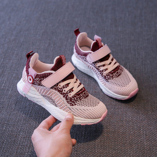 Kids Challenger Sneakers Boys Girls Trainer Shoes 16