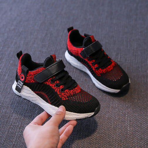 Kids Challenger Sneakers Boys Girls Trainer Shoes 19