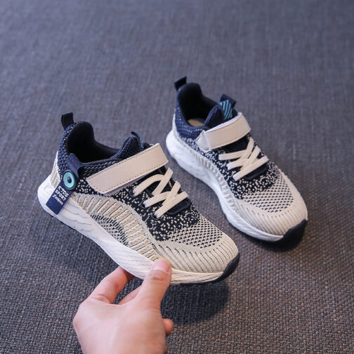 Kids Challenger Sneakers Boys Girls Trainer Shoes 24