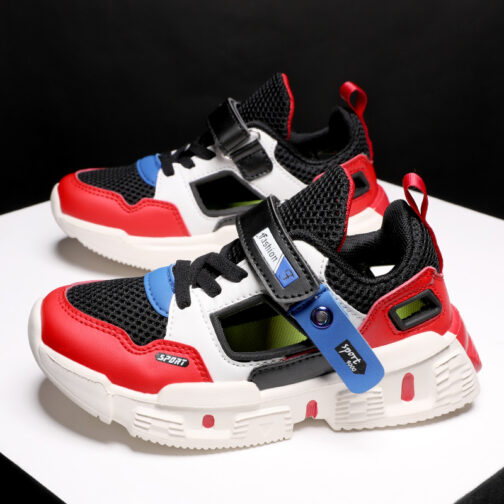 Kids Curious Sneakers Boys Girls Sandals Trainer Shoes