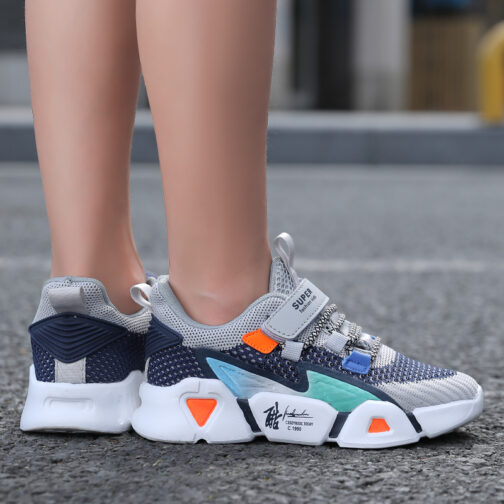 Kids MZL Sneakers Boys Girls Trainer Shoes
