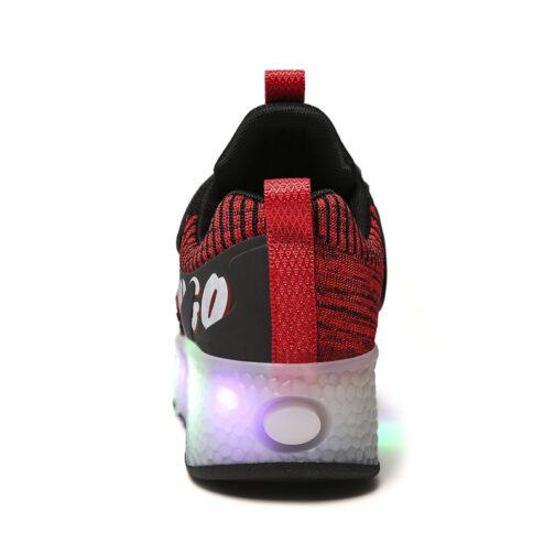 Boys Girls Kids Skating Shoes for Beginners, Children's Roller Skates, Kids LED Light Up Shoes, kids Sneakers, Kids' Toys & Games Tags: Boys Girls Kids Led Light Up Shoes, Led sneakers, Light Up Shoes, Roller Skates Boys Girls Kids