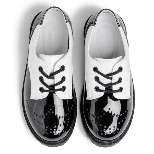 Boys Girls Kids Leather Dress Shoes