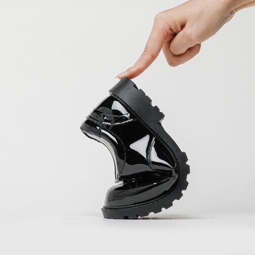 Kids Boys Girls Leather Dress Shoes