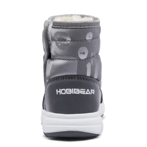 Kids Boys Girls Snow Boots Waterproof Slip Resistant Winter Shoes 27