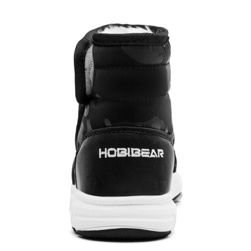 Kids Boys Girls Snow Boots Waterproof Slip Resistant Winter Shoes 34
