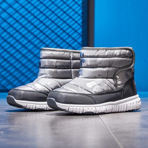 Kids Boys Girls Snow Boots Waterproof Slip Resistant Winter Shoes