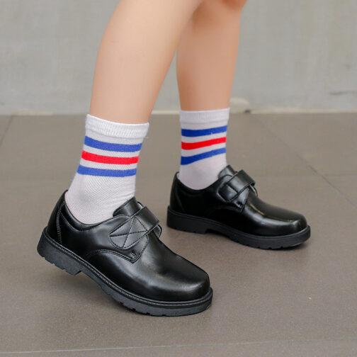 Kids Boys Leather Dress Shoes