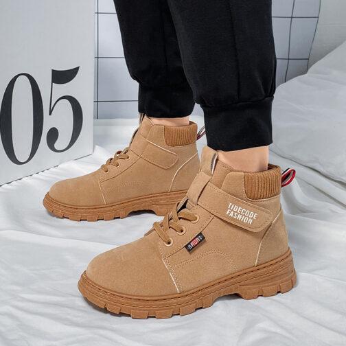Kids Boys Waterproof Strap Classic Boots