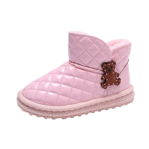Kids Girls Snow Boots Winter Shoes