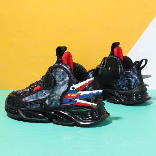 Kids Sci-Fi Sneakers Boys Girls Trainer Shoes