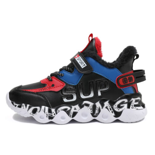 Kids Winter Snow Sneakers Boys Girls Trainer Shoes